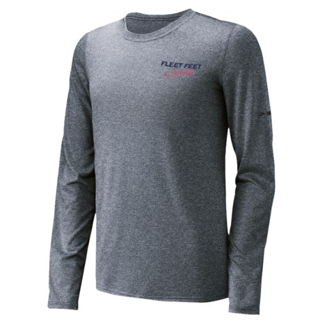 Brooks EZ T-Shirt - Long Sleeve (For Men) in Earl