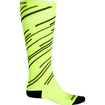 d1cb7d1957e Brooks Fanatic Compression Running Socks - Over the Calf (For Men and  Women) in