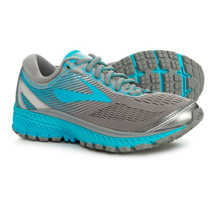 7bbaaed1cae Brooks Ghost 10 Running Shoes (For Women) in Primer Grey Teal Victory