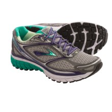 Brooks Ghost 7 Running Shoes (For Women) in Silver/Mulberry Purple/Pool Green - Closeouts