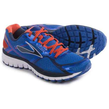Brooks Ghost 8 Running Shoes (For Men) in Electric Brooks/Spicy Orange/Dress Blues - Closeouts