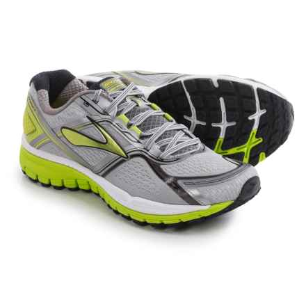 Brooks Ghost 8 Running Shoes (For Men) in Metallic Charcoal/Lime Punch/Silver - Closeouts