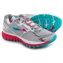 Brooks Ghost 8 Running Shoes (For Women) in Metallic Charcoal/Bright Rose/Blue Bird - Closeouts