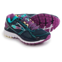 Brooks Ghost 8 Running Shoes (For Women) in Peacoat/Hollyhock/Capribreeze - Closeouts