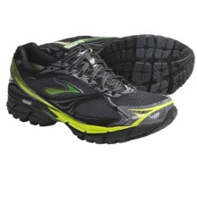 Brooks Ghost Gore-Tex® Running Shoes - Waterproof (For Men) in Black/Shadow/Metallic Green/Sulphur Spring - Closeouts