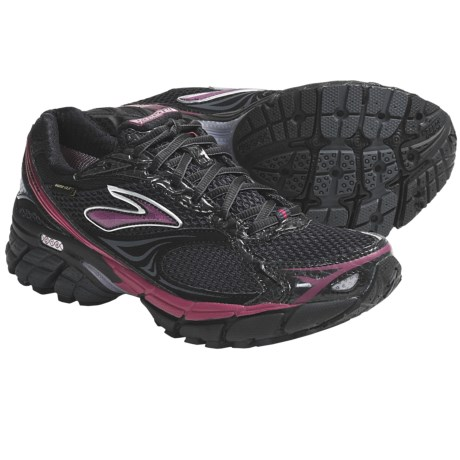 Brooks Ghost Gore-Tex® Running Shoes - Waterproof (For Women) in Anthracite/Black/Cerise/Viola/Silver
