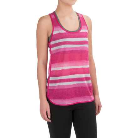 Brooks Ghost Racerback Running Shirt - Sleeveless (For Women) in Bloom Scape - Closeouts