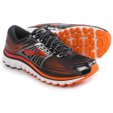 Brooks Glycerin 13 Running Shoes (For Men) in Black/High Risk Red/Silver - Closeouts