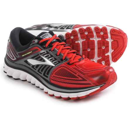 Brooks Glycerin 13 Running Shoes (For Men) in High Risk Red/Black/Nightlife - Closeouts