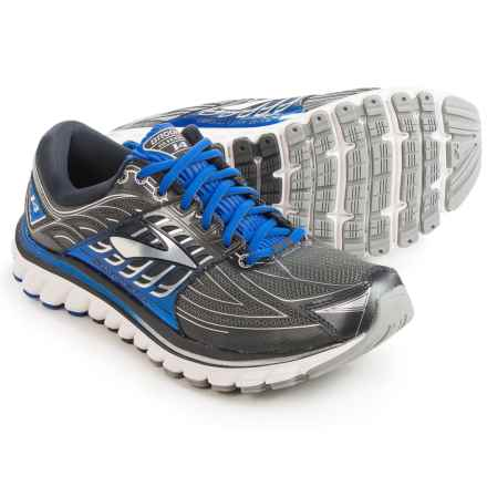 Brooks Glycerin 14 Running Shoes (For Men) in Anthracite/Electric Brooks Blue/Silver - Closeouts