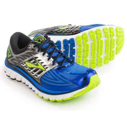 Brooks Glycerin 14 Running Shoes (For Men) in Electric Brooks Blue/Black/Lime Punch - Closeouts