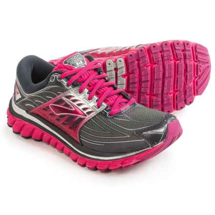 Brooks Glycerin 14 Running Shoes (For Women) in Anthracite/Azalea/Silver - Closeouts