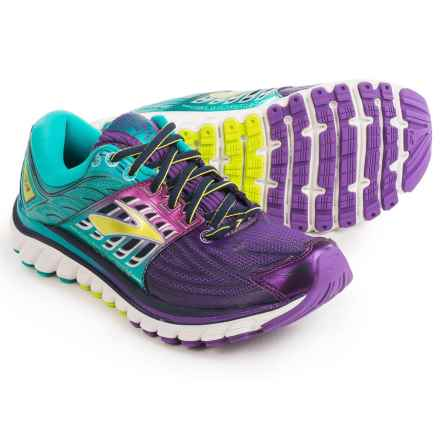 Brooks Glycerin 14 Running Shoes (For Women) in Pansy/Ceramic/Lime Punch - Closeouts