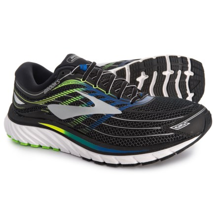 93b68118f Brooks Glycerin 15 Running Shoes (For Men) in Black Electric Brooks Blue
