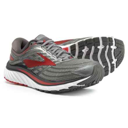 Brooks Glycerin 15 Running Shoes (For Men) in Ebony/Primer Grey/Toreador - Closeouts