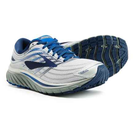Brooks Glycerin 15 Running Shoes (For Men) in Silver/Navy/Blue - Closeouts