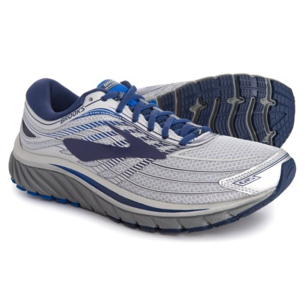 0868c8cc1b0c Brooks Glycerin 15 Running Shoes (For Men) in Silver Navy Blue -