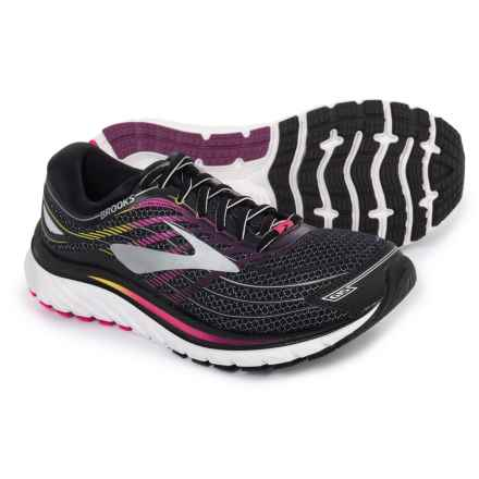 Brooks Glycerin 15 Running Shoes (For Women) in Black/Pink Peacock/Plum Caspia - Closeouts
