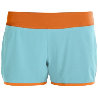 Brooks Glycerin 2-in-1 Shorts - Recycled Materials (For Women) in Tropic