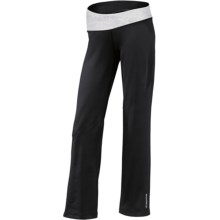 Brooks Glycerin II Pants (For Women) in Black/White Mist Print - Closeouts