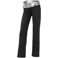Brooks Glycerin II Pants (For Women) in Black/White Wildflower Print - Closeouts