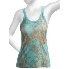 Brooks Glycerin II Print Support Tank Top - Built-In Bra (For Women) in Tropic - Closeouts