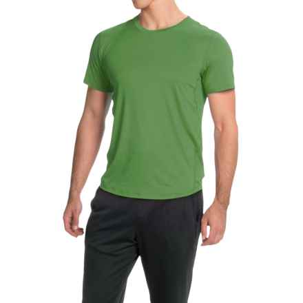 Brooks Go-To Running T-Shirt - UPF 30+, Crew Neck, Short Sleeve (For Men) in Forest - Closeouts