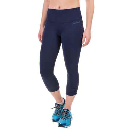 Brooks Greenlight Capris (For Women) in Navy R/Navy - Closeouts