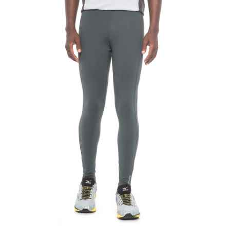Brooks Greenlight Running Tights (For Men) in Asphalt/Nightlife - Closeouts