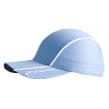 Brooks HVAC Infiniti Mesh Hat (For Men and Women) in Powder - Closeouts