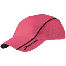Brooks HVAC Infiniti Mesh Hat (For Men and Women) in Rouge - Closeouts