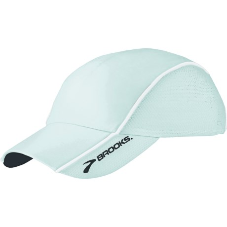 Brooks HVAC Infiniti Mesh Hat (For Men and Women) in Seafoam/White