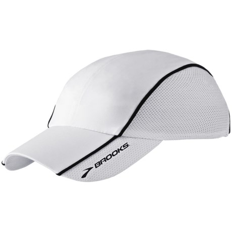 Brooks HVAC Infiniti Mesh Hat (For Men and Women) in White