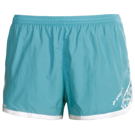 Brooks HVAC Synergy Running Shorts (For Women) in Aqua