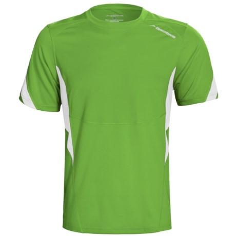 Brooks HVAC Synergy T-Shirt - UPF 40+, Short Sleeve (For Men) in Speed Green