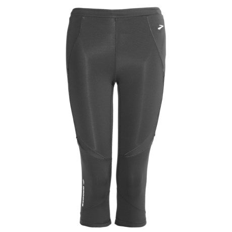 Brooks Infiniti Capri Tights (For Women) in Black
