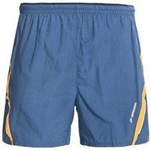 Brooks Infiniti II Notch Shorts - Built-In Mesh Brief (For Men) in Dark Blue - Closeouts