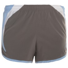 Brooks Infiniti II Shorts (For Women) in Slate/Powder - Closeouts