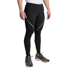 Brooks Infiniti III Running Tights (For Men) in Black/Nightlife - Closeouts