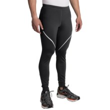 Brooks Infiniti III Running Tights (For Men) in Black - Closeouts