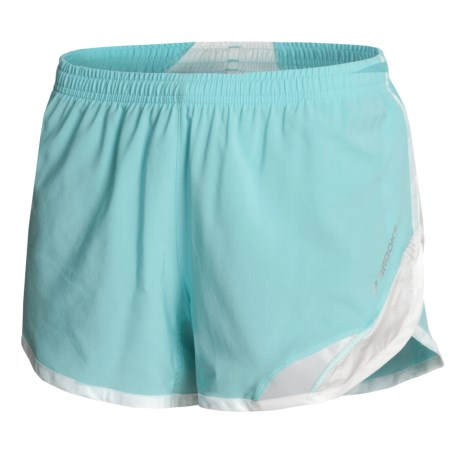 Brooks Infiniti III Shorts (For Women) in Aqua