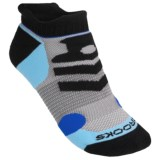 Brooks Infiniti Race Day Socks - Double Tab, Below-the-Ankle (For Men and Women)