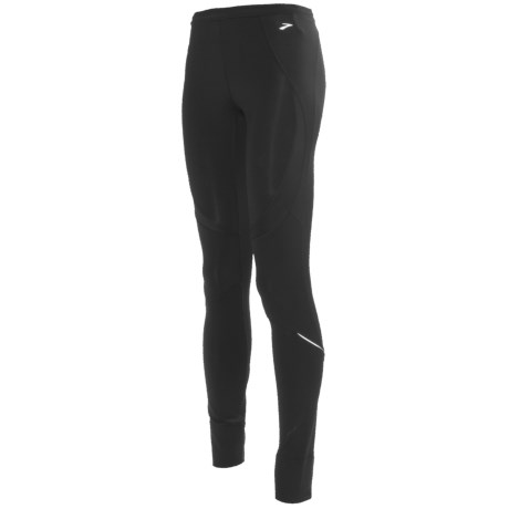 Brooks Infiniti Running Tights (For Women) in Black