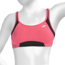 Brooks Infiniti Sports Bra - High Impact (For Women) in Rouge - Closeouts