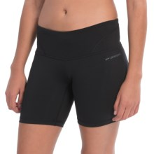"Brooks Infiniti Tight Shorts - 7"" (For Women) in Black - Closeouts"