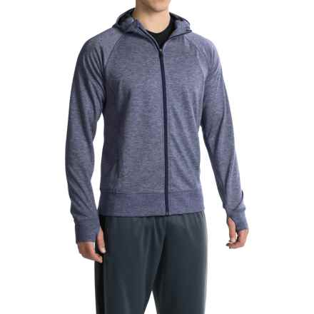 Brooks Joyride Hoodie (For Men) in Heather Coast - Closeouts