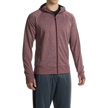 Brooks Joyride Hoodie (For Men) in Heather Root - Closeouts
