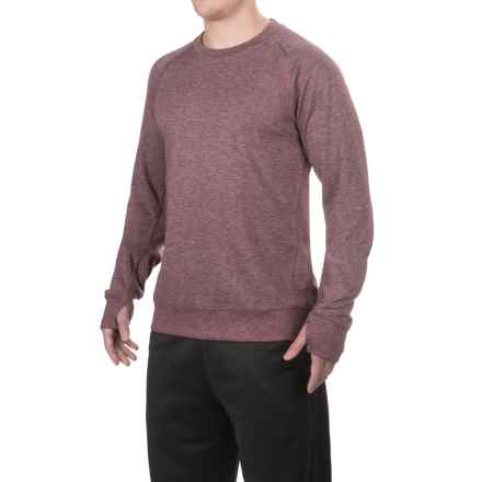 Brooks Joyride Sweatshirt - Merino Wool (For Men) in Heather Root - Closeouts