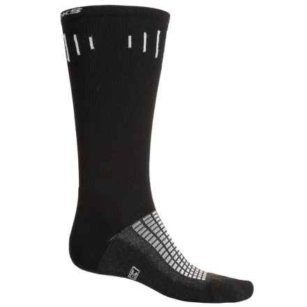 Brooks Knee-High Compression Socks - Over the Calf (For Men and Women) in Black - Closeouts