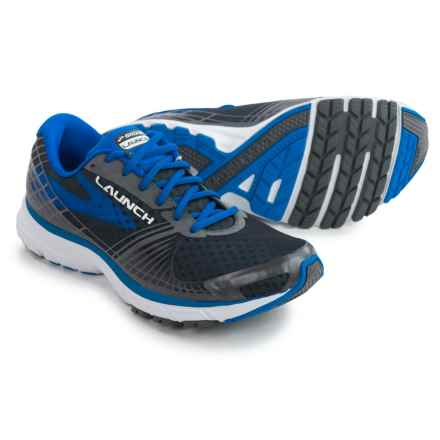 Brooks Launch 3 Running Shoes (For Men) in Anthracite/Electric Brooks Blue - Closeouts